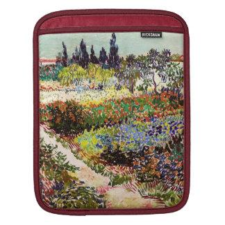 Vincent Van Gogh Flowering Garden Floral Fine Art iPad Sleeve