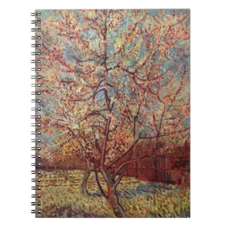 Vincent Van Gogh - Flowering Orchards Painting Spiral Notebook