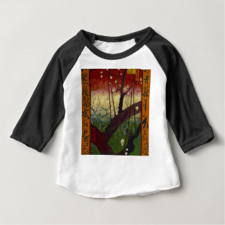 Vincent Van Gogh Flowering Plum Tree Art work Baby T-Shirt
