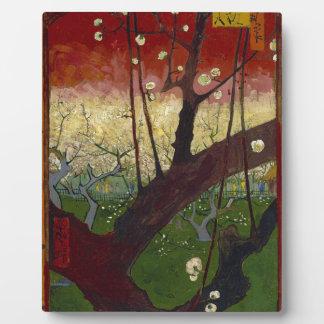 Vincent Van Gogh Flowering Plum Tree Art work Plaques