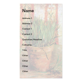 Vincent Van Gogh - Flowerpot With Chives Pack Of Standard Business Cards