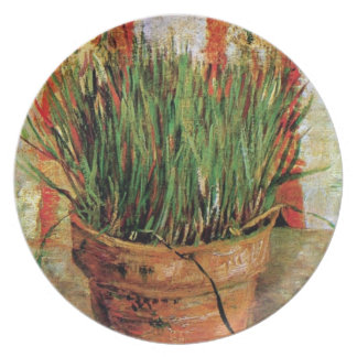 Vincent Van Gogh - Flowerpot With Chives Party Plate