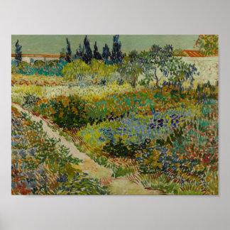 Vincent van Gogh - Garden at Arles Poster