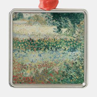 Vincent van Gogh | Garden in Bloom, Arles, 1888 Christmas Ornament