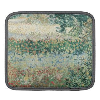 Vincent van Gogh   Garden in Bloom, Arles, 1888 iPad Sleeve