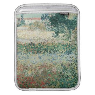 Vincent van Gogh | Garden in Bloom, Arles, 1888 iPad Sleeve