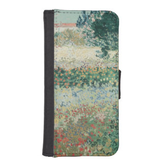 Vincent van Gogh | Garden in Bloom, Arles, 1888 iPhone SE/5/5s Wallet Case