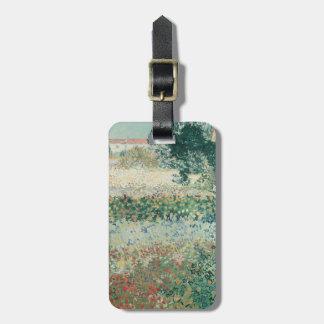 Vincent van Gogh | Garden in Bloom, Arles, 1888 Luggage Tag