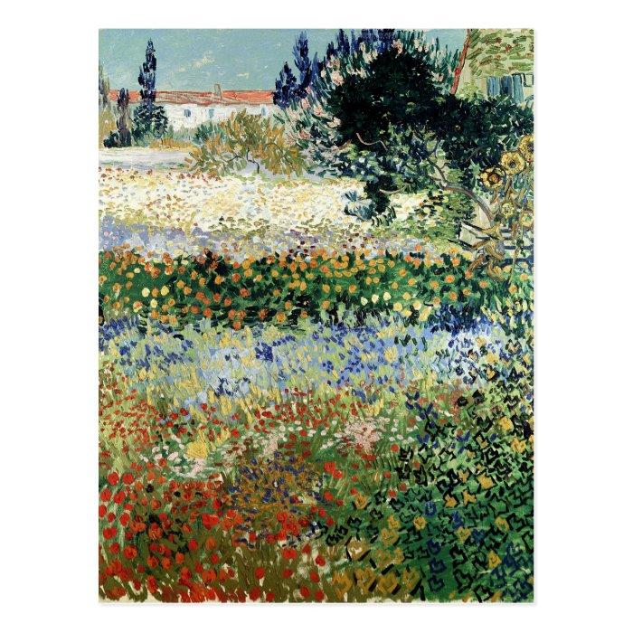 Vincent van Gogh | Garden in Bloom, Arles, 1888 Postcard