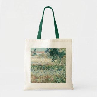 Vincent van Gogh | Garden in Bloom, Arles, 1888 Tote Bag