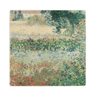 Vincent van Gogh | Garden in Bloom, Arles, 1888 Wood Coaster
