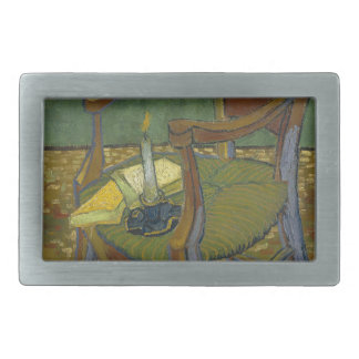 Vincent Van Gogh - Gauguin's Armchair painting Belt Buckle