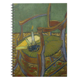 Vincent Van Gogh - Gauguin's Armchair painting Notebook