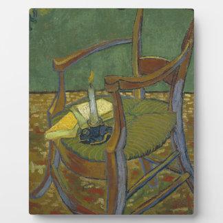 Vincent Van Gogh - Gauguin's Armchair painting Plaque