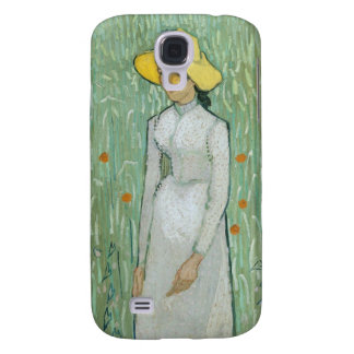 Vincent van Gogh | Girl in White, 1890 Galaxy S4 Case