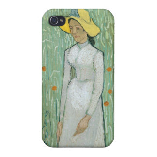 Vincent van Gogh   Girl in White, 1890 iPhone 4 Cases
