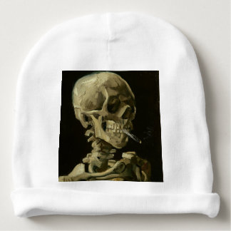 Vincent Van Gogh Head of A Skeleton with Cigarette Baby Beanie