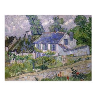 Vincent van Gogh - Houses at Auvers Postcard