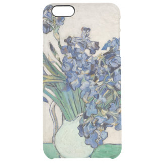 Vincent van Gogh Irises 1890 GalleryHD Fine Art Clear iPhone 6 Plus Case