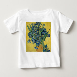 Vincent Van Gogh - Irises Art Work Baby T-Shirt