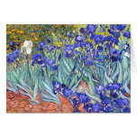 Vincent Van Gogh Irises Floral Vintage Fine Art Cards