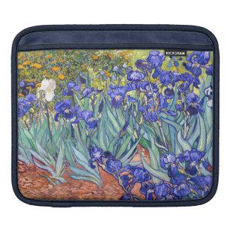 Vincent Van Gogh Irises Floral Vintage Fine Art iPad Sleeves