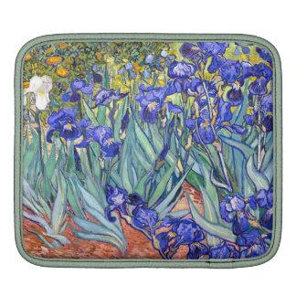 Vincent Van Gogh Irises Floral Vintage Fine Art iPad Sleeve