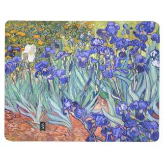 Vincent Van Gogh Irises Floral Vintage Fine Art Journal