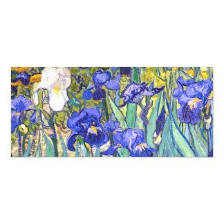 Vincent Van Gogh Irises Floral Vintage Fine Art Magnetic Invitations
