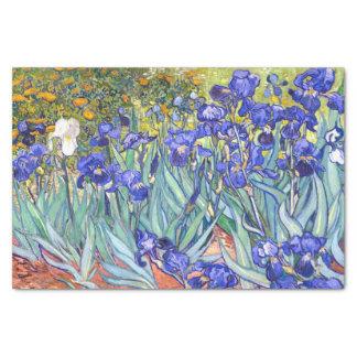 Vincent Van Gogh Irises Floral Vintage Fine Art Tissue Paper