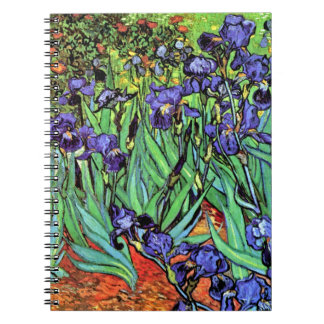 Vincent Van Gogh - Irises - Flower Lover Fine Art Notebooks