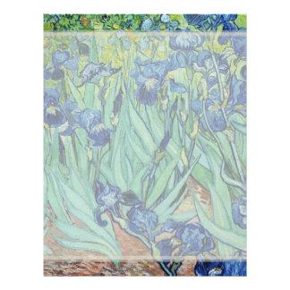 Vincent van Gogh, Irises. Flyers