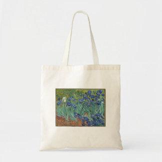 Vincent Van Gogh - Irises Painting Art Tote Bag
