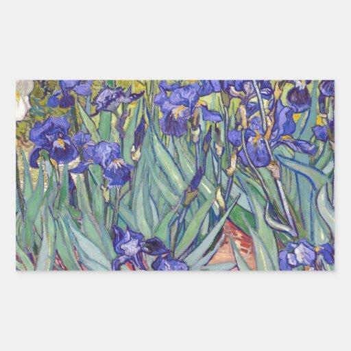 Vincent van Gogh Irises Painting Artwork Art Print Sticker