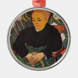 Vincent Van Gogh - Kind Old Lady Portrait Christmas Ornament