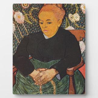Vincent Van Gogh - Kind Old Lady Portrait Plaque
