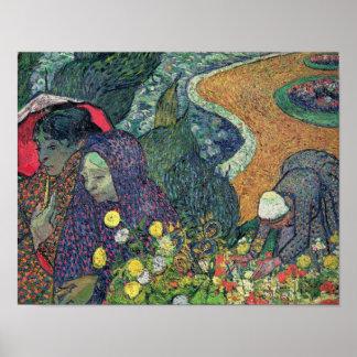 Vincent van Gogh | Ladies of Arles , 1888 Poster