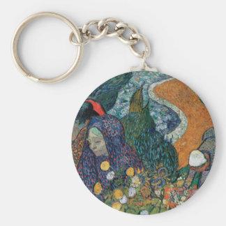Vincent Van Gogh - Ladies of Arles Key Ring