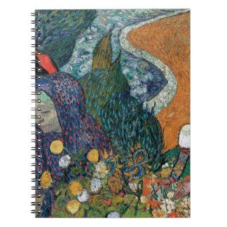 Vincent Van Gogh - Ladies of Arles Spiral Notebook