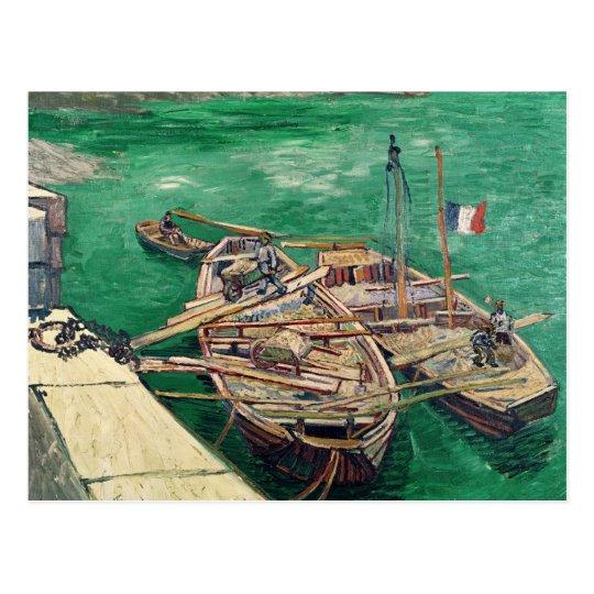 Vincent van Gogh | Landing Stage with Boats, 1888 Postcard