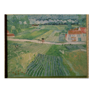 Vincent van Gogh | Landscape at Auvers Postcard