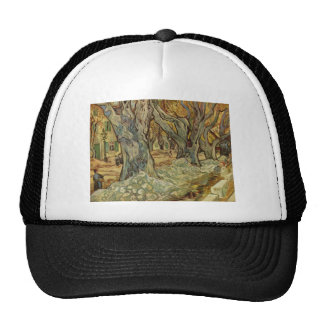 Vincent Van Gogh -  Landscape Trees Cap