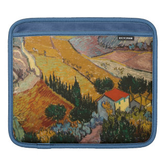 Vincent van Gogh | Landscape w/ House & Ploughman Sleeves For iPads
