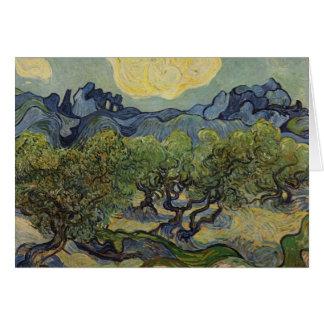 Vincent van Gogh - Landscape with Olive Trees Card