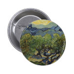 Vincent van Gogh - Landscape with Olive Trees Pin