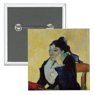 Vincent van Gogh | L'Arlesienne  1888 15 Cm Square Badge