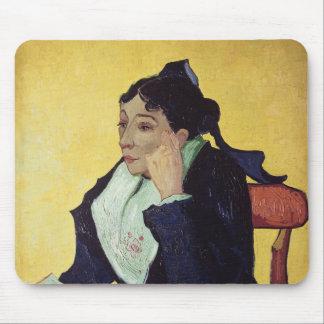 Vincent van Gogh   L'Arlesienne  1888 Mouse Mat