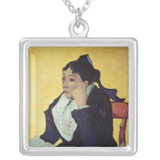 Vincent van Gogh | L'Arlesienne  1888 Silver Plated Necklace