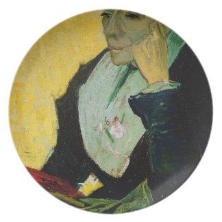 Vincent van Gogh | L'Arlesienne, detail, 1888  Plates