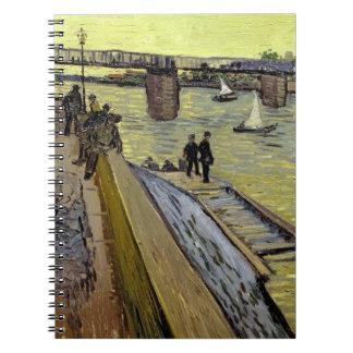 Vincent van Gogh   Le Pont de Trinquetaille Arles Notebooks